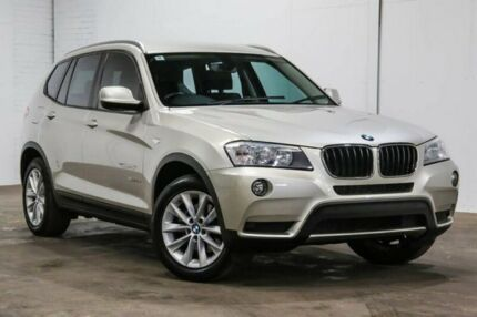 2013 BMW X3 F25 MY1112 xDrive20d Steptronic Silver 8 Speed Automatic Wagon