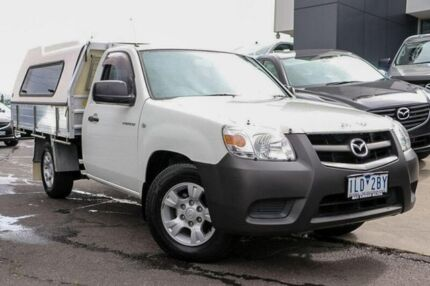 2009 Mazda BT-50 UNY0W4 DX White 5 Speed Manual Cab Chassis