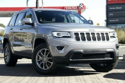 2015 Jeep Grand Cherokee WK MY15 Laredo 4x2 Silver 8 Speed Sports Automatic Wagon Mount Gravatt Brisbane South East Preview