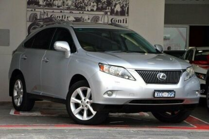 2009 Lexus RX350 GGL15R Sports Luxury Silver 6 Speed Sports Automatic Wagon Doncaster Manningham Area Preview