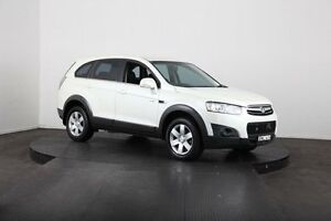 2011 Holden Captiva CG Series II 7 SX (FWD) White 6 Speed Automatic Wagon McGraths Hill Hawkesbury Area Preview