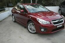2014 Subaru Impreza G4 MY14 2.0i-S Lineartronic AWD Red 6 Speed Constant Variable Sedan Meadowbank Ryde Area Preview