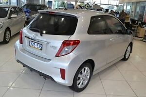 2012 Toyota Yaris NCP131R ZR Silver 5 Speed Manual Hatchback Mill Park Whittlesea Area Preview