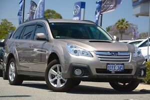 2013 Subaru Outback B5A MY13 2.0D Lineartronic AWD Burnished Bronze 7 Speed Constant Variable Wagon Willagee Melville Area Preview