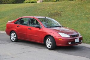 2001 Ford Focus ZTS Sedan - 5 Speed Manual