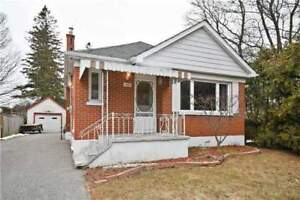 *****DETACHED HOME FOR LEASE ON HORTOP STREET IN NORTH OSHAWA***