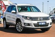2015 Volkswagen Tiguan 5N MY15 130TDI DSG 4MOTION White 7 Speed Sports Automatic Dual Clutch Wagon Cannington Canning Area Preview