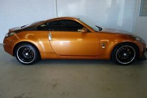 2003 Nissan 350Z Z33 Track Orange 6 Speed Manual Coupe Silver Sands Mandurah Area Preview
