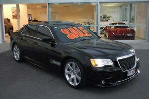 2012 Chrysler 300 SRT-8 Black 5 Speed Sports Automatic Sedan Mount Gravatt Brisbane South East Preview