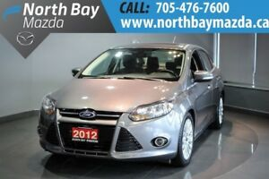 2012 Ford Focus Titanium Sunroof + Alloy Wheels + I4 2.0L Engine