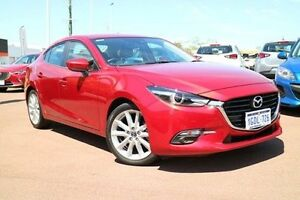 2016 Mazda 3 BN5238 SP25 SKYACTIV-Drive GT Red 6 Speed Sports Automatic Sedan Wilson Canning Area Preview