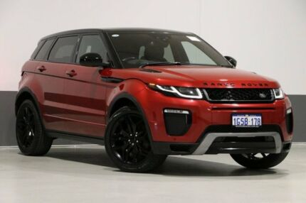 2015 Land Rover Range Rover Evoque LV MY16 TD4 180 HSE Dynamic Red 9 Speed Automatic Wagon Bentley Canning Area Preview