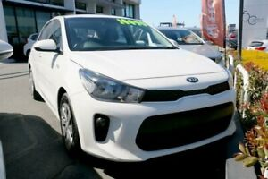2018 Kia Rio YB MY18 S Clear White 4 Speed Sports Automatic Hatchback Ormiston Redland Area Preview