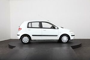 2004 Hyundai Getz TB GL White 4 Speed Automatic Hatchback McGraths Hill Hawkesbury Area Preview
