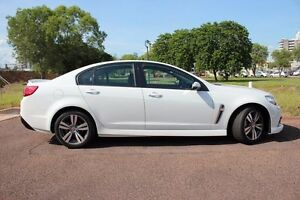 2015 Holden Commodore VF MY15 SV6 White 6 Speed Sports Automatic Sedan The Gardens Darwin City Preview