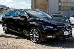 2015 Skoda Superb Black Sports Automatic Dual Clutch Wagon Seaford Frankston Area Preview