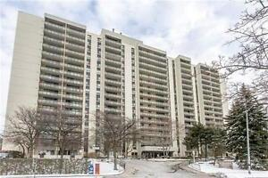 1000 Sq. Ft bright 2 bed condo - Don Mills/Finch Ave