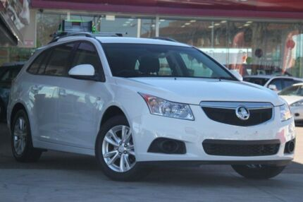 2013 Holden Cruze JH MY13 CD White 6 Speed Automatic Sportswagon