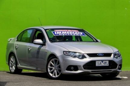 2014 Ford Falcon FG MkII XR6 Silver 6 Speed Sports Automatic Sedan Ringwood East Maroondah Area Preview