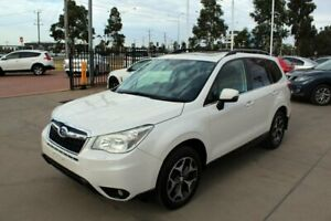 2014 Subaru Forester MY13 2.5I-S White Continuous Variable Wagon Werribee Wyndham Area Preview