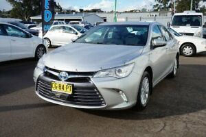 2015 Toyota Camry AVV50R Altise Silver 1 Speed Constant Variable Sedan Hybrid Cardiff Lake Macquarie Area Preview