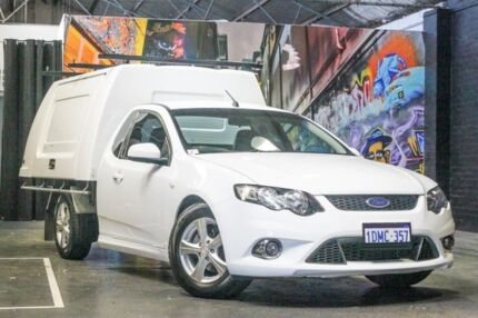 2010 Ford Falcon FG XR6 Ute Super Cab 50th Anniversary White 6 Speed Sports Automatic Utility