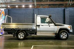 2008 Toyota Landcruiser VDJ79R GXL 5 Speed Manual Cab Chassis Northbridge Perth City Area Preview