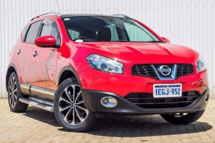 2013 Nissan Dualis J10W Series 3 MY12 ST Hatch X-tronic 2WD Red 6 Speed Constant Variable Hatchback