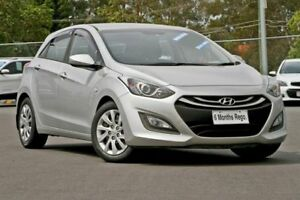 2013 Hyundai i30 GD MY14 Elite Silver 6 Speed Sports Automatic Hatchback