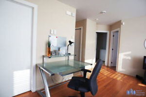Apartment 4 1/2 condo fully furnished for rent Chomedey Laval