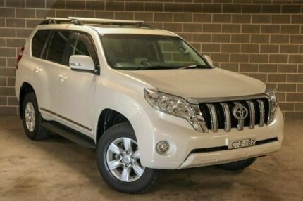 2014 Toyota Landcruiser Prado KDJ150R MY14 Altitude White 5 Speed Sports Automatic Wagon Waitara Hornsby Area Preview