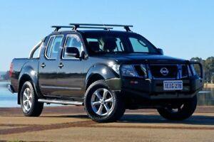 2013 Nissan Navara D40 Series 6 ST Black Manual Utility Bunbury Bunbury Area Preview