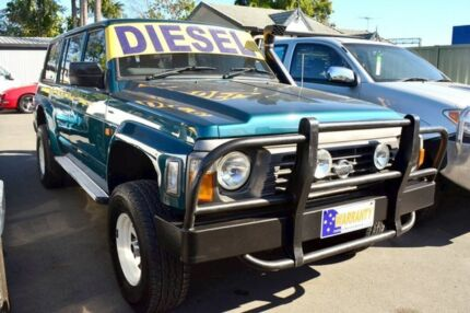 1997 Nissan Patrol  Green 5 Speed Wagon Strathpine Pine Rivers Area Preview