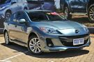 2012 Mazda 3 BL1072 MY13 SP20 SKYACTIV-Drive SKYACTIV Blue 6 Speed Sports Automatic Sedan