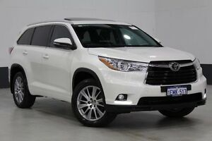 2014 Toyota Kluger GSU50R Grande (4x2) Crystal Pearl 6 Speed Automatic Wagon Bentley Canning Area Preview