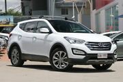 2013 Hyundai Santa Fe DM MY14 Highlander White 6 Speed Sports Automatic Wagon Hillcrest Logan Area Preview