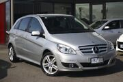 2011 Mercedes-Benz B180 W245 MY11 Silver 1 Speed Constant Variable Hatchback Frankston Frankston Area Preview
