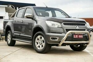 2013 Holden Colorado RG MY13 LTZ Crew Cab Grey 6 Speed Sports Automatic Utility Lake Wendouree Ballarat City Preview