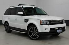 2013 Land Rover Range Rover MY12 Sport 3.0 SDV6 Luxury White 6 Speed Automatic Wagon Bentley Canning Area Preview