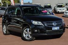 2009 Volkswagen Tiguan 5N MY09 147TSI 4MOTION Black 6 Speed Sports Automatic Wagon Cannington Canning Area Preview