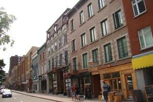 superbe 5½ rue St-Jean quartier St-Jean-Baptiste libre