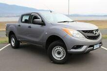 2013 Mazda BT-50 UP0YF1 XT 4x2 Hi-Rider Grey 6 Speed Sports Automatic Utility Derwent Park Glenorchy Area Preview