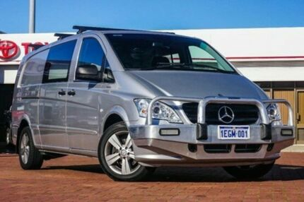 2011 Mercedes-Benz Vito 639 MY11 122CDI LWB Silver 5 Speed Automatic Van Midland Swan Area Preview