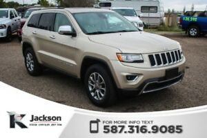 2015 Jeep Grand Cherokee Limited - Panoramic Sunroof, Leather, N