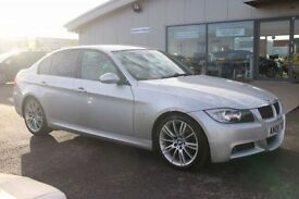 BMW 3 SERIES 3.0 325I M SPORT 4d 215 BHP - 360 SPIN ON WEBSITE (silver) 2008