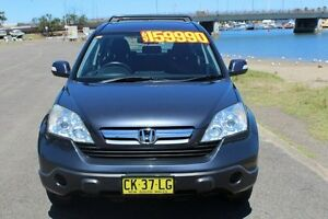 2007 Honda CR-V RE MY2007 4WD Sparkle Grey 5 Speed Automatic Wagon Hamilton East Newcastle Area Preview