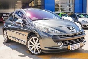 2008 Peugeot 207 A7 GTi Grey 5 Speed Manual Hatchback Myaree Melville Area Preview