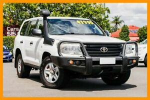 2013 Toyota Landcruiser VDJ200R MY13 GX White 6 Speed Sports Automatic Wagon