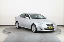 2009 Lexus IS250 GSE20R 08 Upgrade Prestige Silver 6 Speed Sequential Auto Sedan Smithfield Parramatta Area Preview