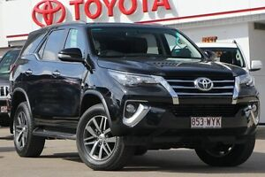 2016 Toyota Fortuner GUN156R Crusade Eclipse Black 6 Speed Automatic Wagon Woolloongabba Brisbane South West Preview